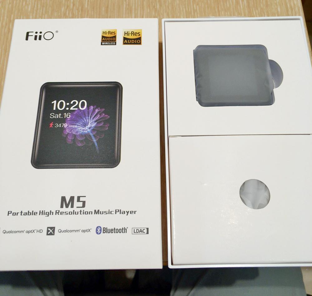 FiiO M5 化粧箱