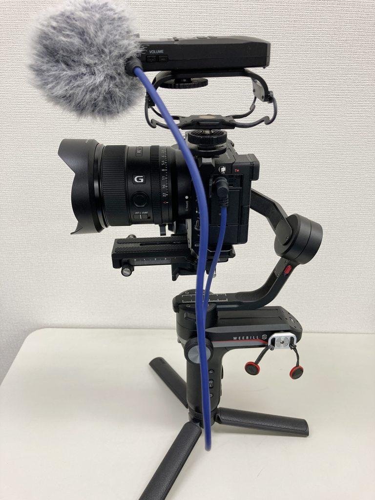 Sony α7Cとジンバル